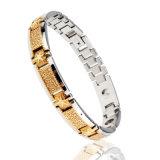 Bracelet énergétique en acier inoxydable magnétique (titane)
