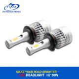Nueva linterna 6500k de la MAZORCA H7 LED del diseño 72W 8000lm Canbus S2 Bridgelux