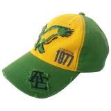 Gorra de béisbol lavada manera con Niza la insignia Gjwd1739