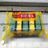 Máquina de embalagem de sabão com alimentador automático