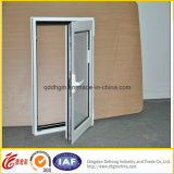 Desplazamiento del PVC/ventana de cristal Tempered del marco Single/Double