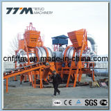 80tph Hot Mix Mobile Asphalt Plant pour la construction de routes