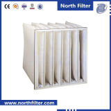 Filtro a sacco centrale industriale della polvere del condizionatore d'aria di Ahu