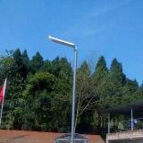 15W Garten-Beleuchtung-Straßenlaterne-Bewegungs-Fühler-Lampe der Solarprodukt-im Freien LED mit eingebauter Lithium-Batterie