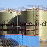Баки для хранения FRP вертикальные или горизонтальные для химикатов и индустрии