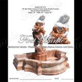 Fontaine multicolore Mf-575 de fontaine en pierre de marbre de granit