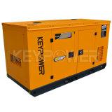 звукоизоляционный тип 80kVA тепловозного генератора приведенный в действие двигателем Perkins 1104A-44tg2