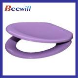 Duroplast langsame nahe purpurrote farbige Toiletten-Deckel