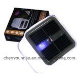 De mini Lampen van de Tuin van de Lichten van het Zonnepaneel Zonne Opblaasbare Zonne Aangedreven voor Verkoop