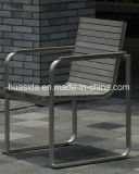 Dessus de table confortable en verre Tempered de noir d'esprit de Tableau dinant de patio