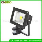 10W 20W 30W 50W PIR 운동 측정기 LED 플러드 빛