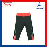 Um conjunto de mulheres Sports Running Yoga Vest e Shorts Leggings Pants