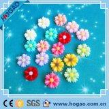Imán creativo del refrigerador de la resina de la forma de la flor de la alta calidad