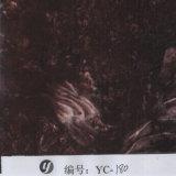 Yingcai 1m Breite malvenfarbenes Marmorhydro-BAD Muster