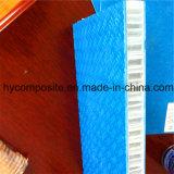 Panino antisdrucciolevole del favo del comitato pp della piattaforma della fibra