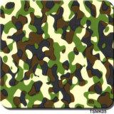 Camouflage van de Breedte van Tsautop de In het groot 0.5m/1m en Film HydroTsmk56 van de Druk van de Overdracht van het Water van de Film van de Film van de Boom de Hydrografische Onderdompelende