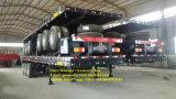 3つの車軸平面セミトレーラー50トンの、半容器のトレーラー、Fuwaの車軸
