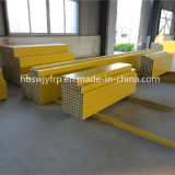 Fiberglas FRP Pultrusion Standard Profiles für Ladders, Stents und Composite Cable Tray, Pultruded Gratings
