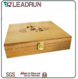 차 EVA 물집 거품 삽입 (YLT32)를 가진 나무로 되는 선물 상자 기념품 상자