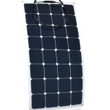 Тонкая панель солнечных батарей 18V клеток 100watt Sunpower пленки Semi гибкая