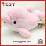 Brinquedo enchido do bebê do brinquedo do luxuoso do golfinho luxuoso cor-de-rosa