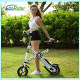 Mini petites vélos électriques pliants avec batterie Panasonic