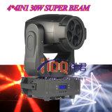 La più nuova testa mobile RGBW 4in1 30W*4 Eyes il fascio eccellente del LED