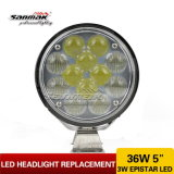 5inch Hi/Low Beam Sealed Headlight LED Driving Light (SM6054R-36W)