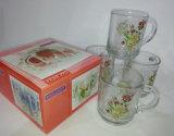 Ясное стеклянное стеклоизделие Kb-Jh06082 кофейной чашки кружки пива Tumbler чашки