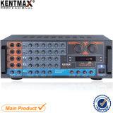Amplificador audio de alta fidelidade de mistura do estéreo do jogador de MP3 da fábrica de Zx-12 China com indicador de diodo emissor de luz