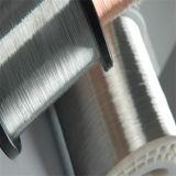 De aluminio con revestimiento de alambre de acero de aluminio solo cable