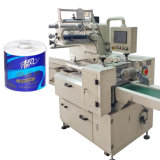 Tecido automático do papel do Toiler que envolve a máquina de empacotamento