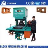 Manueller Lehm-blockierenZiegeleimaschine für Verkauf