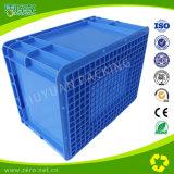 EUの容器のためのプラスチックの箱を出荷する青いカラー