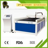 Laser-Ausschnitt und Gravierfräsmaschine Ql-1210 mit Gefäß Laser-100W
