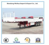 45 tonnellate del camion della parete laterale del carico del rimorchio della base di rimorchio pratico semi