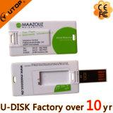 Promotie Gift USB met Logo Credit Card USB Pendrive