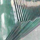 vidrio Tempered del claro inferior del hierro de 6m m para la puerta del edificio