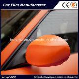 Le vinyle auto-adhésif colore le véhicule enveloppant le film de vinyle