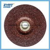 T27 100X6X16 for Metal Grinding Wheel Red with Mesh