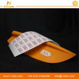 Escrituras de la etiqueta movibles de papel sintetizadas de la etiqueta engomada de los PP para la paleta del barco