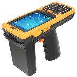Computador de mão, leitor de RFID, Terminal de dados portátil robusto, leitor de código de barra, IP65 PDA industrial