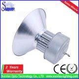 AC85-265V 고성능 옥수수 속 산업 100W LED 높은 만 빛