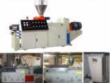 Machine granulaire jumelle conique de la vis Extruders/PVC CPVC/machine en plastique d'extrudeuse