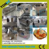 Equipo de fabricación dulce púrpura congelado comercial de las patatas fritas del acero inoxidable