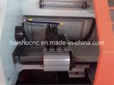 Torno pequeno Ck0640A do CNC com auto alimentador