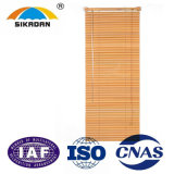 Abat-jour de rouleau vénitiens en bois personnalisés par qualité de SKD