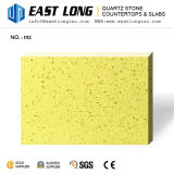 Pedra Sparkling colorida personalizada de quartzo para bancadas/painéis de parede/partes superiores por atacado da vaidade