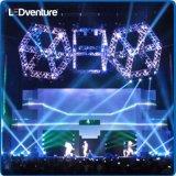 Arrendamento eletrônico interno da placa do diodo emissor de luz da cor cheia para eventos, conferências, partidos