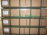 Le PVC a couvert l'abri de stockage de Warehous de structure métallique (XL-408020R)
